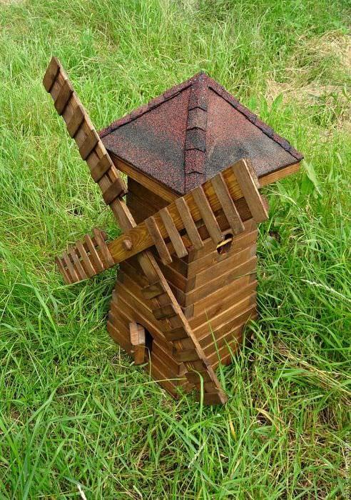 красивое создание декора загородного дома подделками