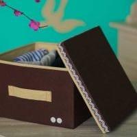 яркое декорирование коробок своими руками фото