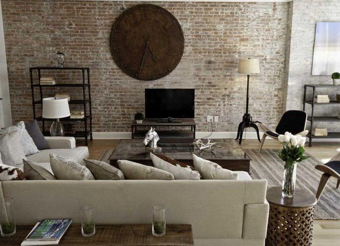 оригинальный дизайн квартиры со стеновыми панелями