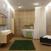 темный дизайн душевой комнаты картинка