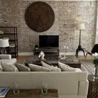 оригинальный дизайн комнаты со стеновыми панелями фото
