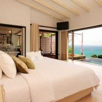 красивый декор гостиной в средиземноморском стиле картинка