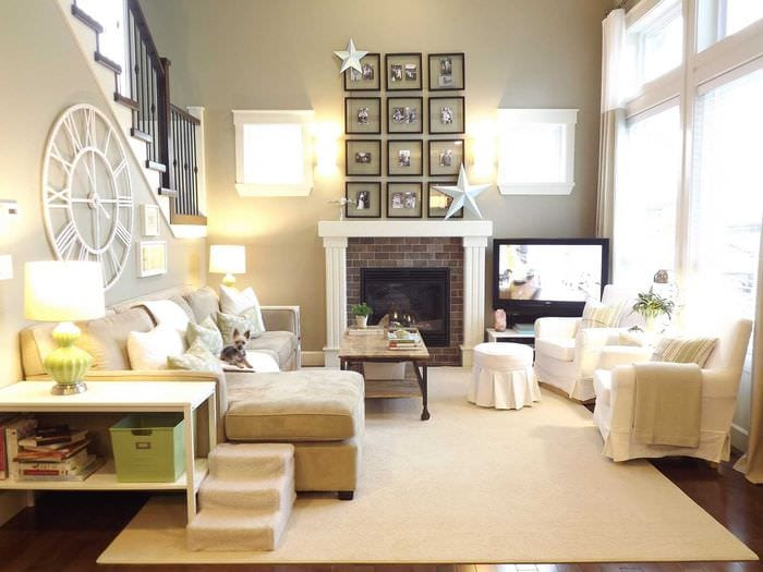 оригинальный интерьер квартиры в средиземноморском стиле