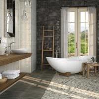 яркий стиль ванной фото