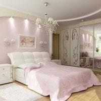 сочетание светлого розового в интерьере гостиной с другими цветами картинка
