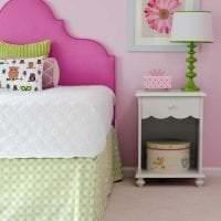 сочетание яркого розового в стиле дома с другими цветами фото