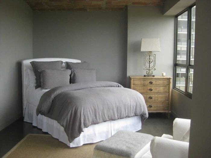 сочетание яркого серого цвета в дизайне квартиры