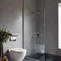 сочетание светлого серого цвета в дизайне дома картинка