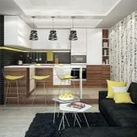сочетание яркого серого в декоре комнаты с другими цветами фото