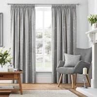 сочетание темного серого цвета в дизайне квартиры картинка
