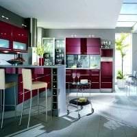 сочетание темного серого в дизайне кухни с другими цветами фото