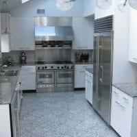 сочетание темного серого в декоре кухни с другими цветами фото
