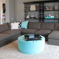 сочетание светлого серого в дизайне дома с другими цветами фото