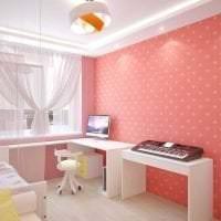 сочетание темного розового в интерьере комнаты с другими цветами картинка