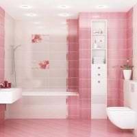 сочетание светлого розового в стиле комнаты с другими цветами фото
