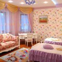 сочетание светлого розового в интерьере дома с другими цветами картинка