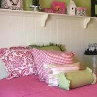 сочетание темного розового в стиле дома с другими цветами картинка