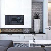 сочетание яркого серого цвета в интерьере дома фото
