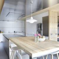 сочетание светлого серого цвета в интерьере дома фото