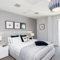 сочетание темного серого цвета в интерьере квартиры картинка