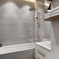 сочетание яркого серого цвета в декоре квартиры фото