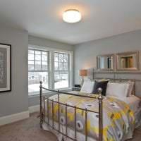 сочетание светлого серого в стиле комнаты с другими цветами фото