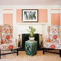 яркий дизайн квартиры в восточном стиле картинка