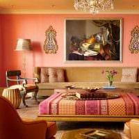 современный интерьер квартиры в восточном стиле картинка