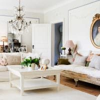 современный стиль квартиры в винтажном стиле картинка