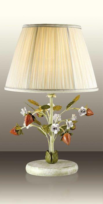 необычное декорирование абажура лампы подручными материалами