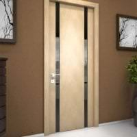 межкомнатные двери в декоре спальни фото