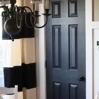 деревянные двери в декоре дома фото