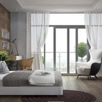 светлый интерьер гостиной в стиле модерн картинка