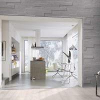 яркий декор квартиры со стеновыми панелями картинка