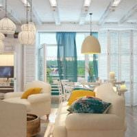 необычный дизайн квартиры в средиземноморском стиле картинка