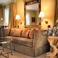 красивый интерьер комнаты в стиле ампир фото