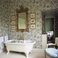 красивый дизайн спальни в викторианском стиле картинка