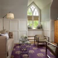необычный интерьер квартиры со стеновыми панелями фото