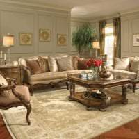 красивый стиль квартиры в викторианском стиле картинка