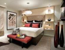светлый дизайн спальни картинка