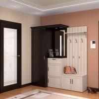 межкомнатные двери в декоре гостиной картинка