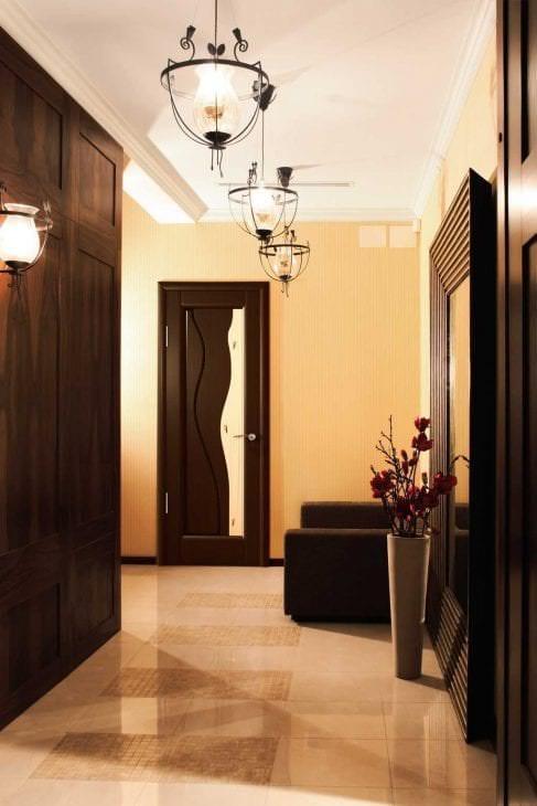 межкомнатные двери в интерьере спальни