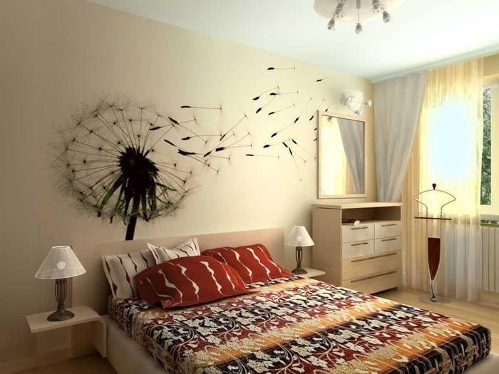 вариант светлого декора гостиной комнаты своими руками