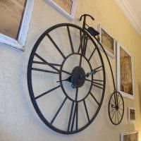 идея необычного декора часов своими руками картинка