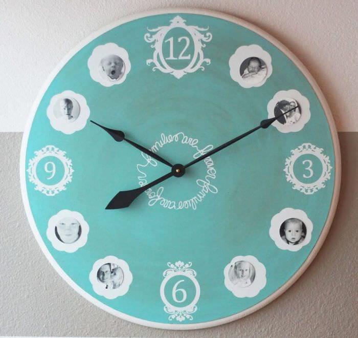 60 Чудесных примеров настенных часов, которые вы захотите 81