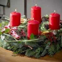 вариант красивого декора свечек своими руками картинка