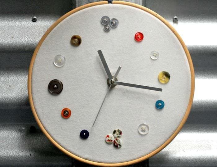 Дизайн часов своим руками 35