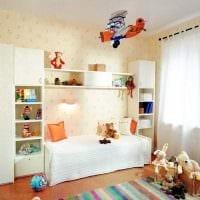 идея яркого декорирования детской комнаты картинка