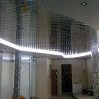 вариант оригинальной led подсветки дизайна фото