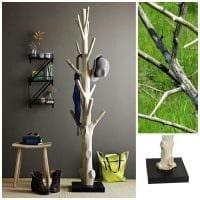 идея яркого украшения комнаты деревом своими руками картинка